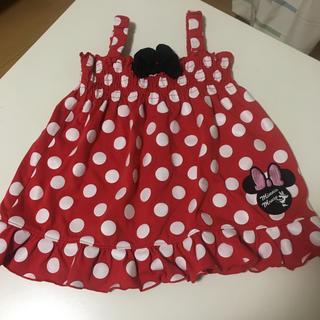 Disney - 女の子 ミニー ワンピース 80