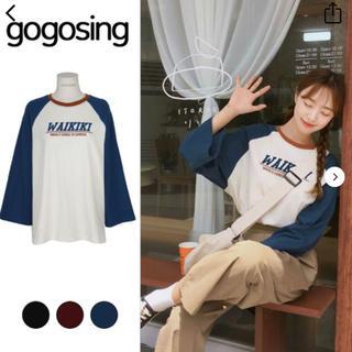ゴゴシング(GOGOSING)のgogosing Tシャツ(Tシャツ(長袖/七分))