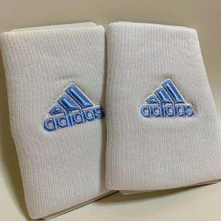 adidas - 【新品】adidas★アディダス★リストバンド★中島モデル★ホワイト★薄いブルー