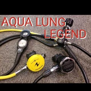アクアラング(Aqua Lung)のアクアラング レジェンド レギュレーター スキューバダイビング(マリン/スイミング)