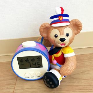 ディズニー(Disney)のダッフィー♡目覚まし時計 35周年限定(置時計)