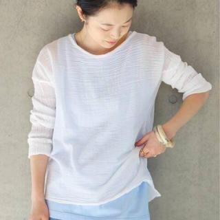 イエナ(IENA)のIENA  ロングスリーブトップス𖧷ຼ(Tシャツ/カットソー(七分/長袖))