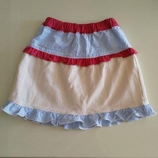 ビッツ(Bit'z)のBit's 110サイズ 裾フリルスカート(スカート)