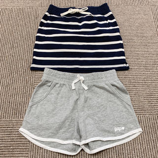 GAP - GAP 130㎝ スカート ショートパンツ 美品