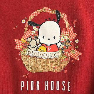PINK HOUSE - 最終お値下げ中【新品】ピンクハウス×サンリオ  トレーナー
