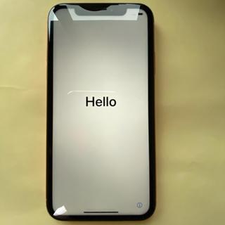 アイフォーン(iPhone)のiPhoneXR オレンジ 橙 128GB エーユー au 中古(スマートフォン本体)