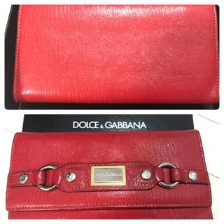 ドルチェアンドガッバーナ(DOLCE&GABBANA)のDOLCE&GABBANA 長財布(財布)