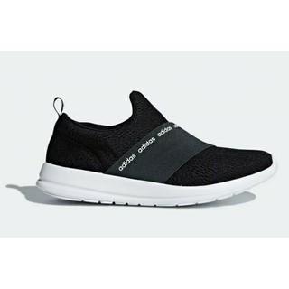 アディダス(adidas)の23.5cm ブラック adidas スリッポン(スリッポン/モカシン)