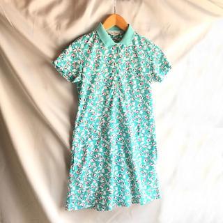 マンシングウェア(Munsingwear)のマンシングウェア ポロワンピース ポロシャツ パラソル 半袖 ゴルフウェア(ウエア)