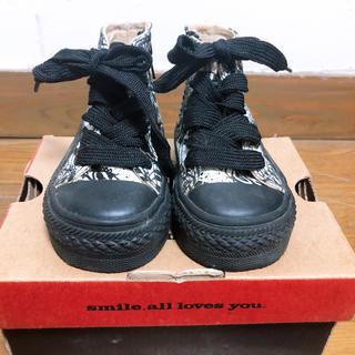 ヒステリックミニ(HYSTERIC MINI)のヒスミニ 厚底ブーツ 13cm(ブーツ)
