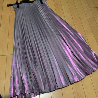 リルリリー(lilLilly)の専用 メタリックプリーツスカート(ロングスカート)