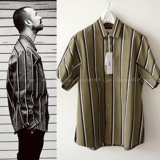 ジルサンダー(Jil Sander)の【名作】OAMC ルーク着用 ストライプ パルス シャツ ブラウス 半袖(シャツ)