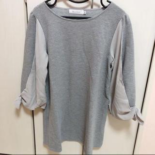 クチュールブローチ(Couture Brooch)のクチュールブローチ チュニック  グレー(チュニック)