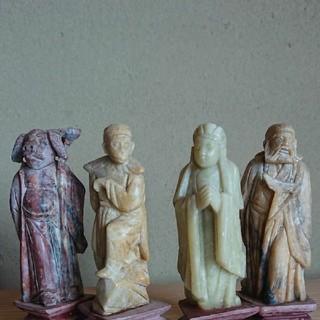 西遊記 石像4体  中国(彫刻/オブジェ)