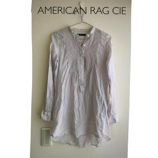 アメリカンラグシー(AMERICAN RAG CIE)のAMERICAN RAG CIE | スタンドカラーコットンブラウス(シャツ/ブラウス(長袖/七分))
