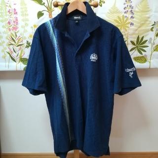 アシュワース(Ashworth)の✨Ashworth アシュワース 紺色のポロシャツ2Lサイズ(ポロシャツ)