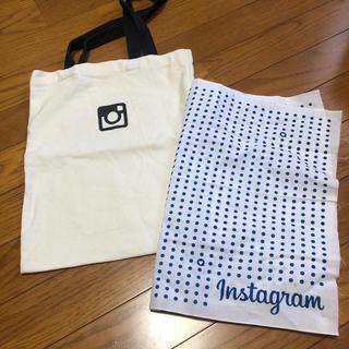 ビューティアンドユースユナイテッドアローズ(BEAUTY&YOUTH UNITED ARROWS)の公式 Instagram インスタグラム 非売品 エコバック 手拭い 激レア(エコバッグ)