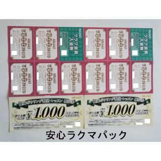 ラウンドワン 株主優待 割引券(ボウリング場)