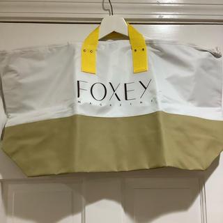 フォクシー(FOXEY)のFOXEY マガジン ノベルティトートバック フォクシー 新品未使用品(エコバッグ)