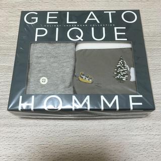 ジェラートピケ(gelato pique)のジェラピケ メンズ ボクサーパンツ(ボクサーパンツ)