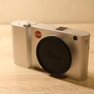 ライカ(LEICA)の『Ydent様専用』LEICA T TYP701定価26万 + アダプター(コンパクトデジタルカメラ)