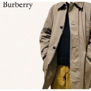 バーバリー(BURBERRY)の【Burburry】 バーバリー ステンカラー コート (ステンカラーコート)