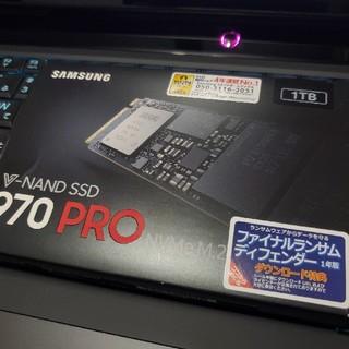 SAMSUNG - 【970pro 1TB 新品未開封】Samsung SSD 1TB