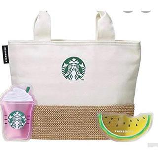 スターバックスコーヒー(Starbucks Coffee)のスタバ 保冷トート&保冷剤(トートバッグ)