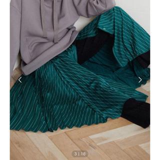 アウラアイラ(AULA AILA)のセール!!AULA AILA チュールセパレートプリーツスカート(ロングスカート)