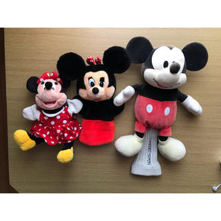 ディズニー(Disney)のディズニー ゴルフ ヘッドカバー  ミッキー ミニー ドライバー ウッド(その他)