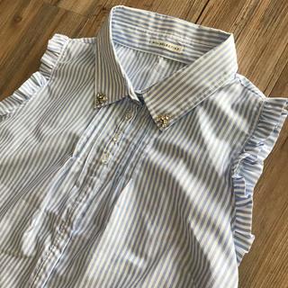 ウィルセレクション(WILLSELECTION)のwillselection ノースリーブストライプシャツ (シャツ/ブラウス(半袖/袖なし))