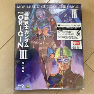 バンダイ(BANDAI)の機動戦士ガンダム THE ORIGIN III Blu-ray(アニメ)