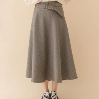 アーバンリサーチ(URBAN RESEARCH)のアイテムズアーバンリサーチ スカート 新品(ひざ丈スカート)