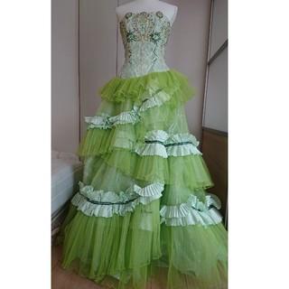 ロシャス(ROCHAS)のカラードレス ウェディング 11T(ウェディングドレス)