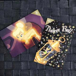 ディズニー(Disney)のポストカード / ティンクset(使用済み切手/官製はがき)