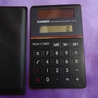 カシオ(CASIO)の💟CASIO💞超薄型ソーラー電卓💟(その他)