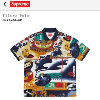 シュプリーム(Supreme)のSupreme  filtre polo  Lサイズ マルチ ポロシャツ 新品(ポロシャツ)