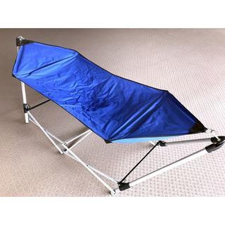 ★折りたたみ式★自立型ハンモック(寝袋/寝具)