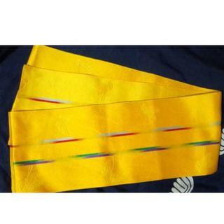 黄色の蝶々の浴衣帯(浴衣帯)
