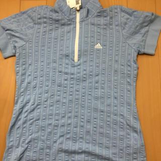 アディダス(adidas)のadidas ゴルフ ジップアップシャツ(ポロシャツ)