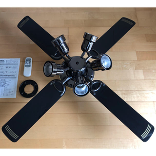 エヌイーシー(NEC)のシーリングファンライト XZF-65108R(天井照明)