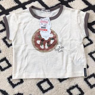 シマムラ(しまむら)のmimorand ピザTシャツ(Tシャツ)