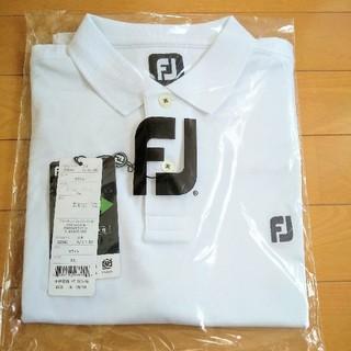 フットジョイ(FootJoy)のフットジョイ チェストロゴ 半袖ポロシャツ XL(ポロシャツ)