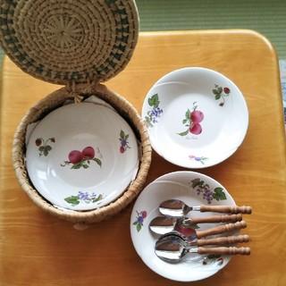 カレー皿5枚セット 収納ケース付(食器)
