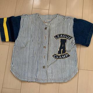 キッズ(KIDS)のデニムシャツ(Tシャツ/カットソー)