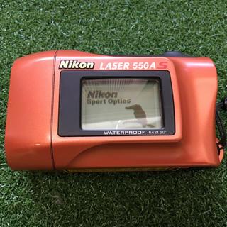 ニコン(Nikon)のレーザ測定器 防水対応(ゴルフ)