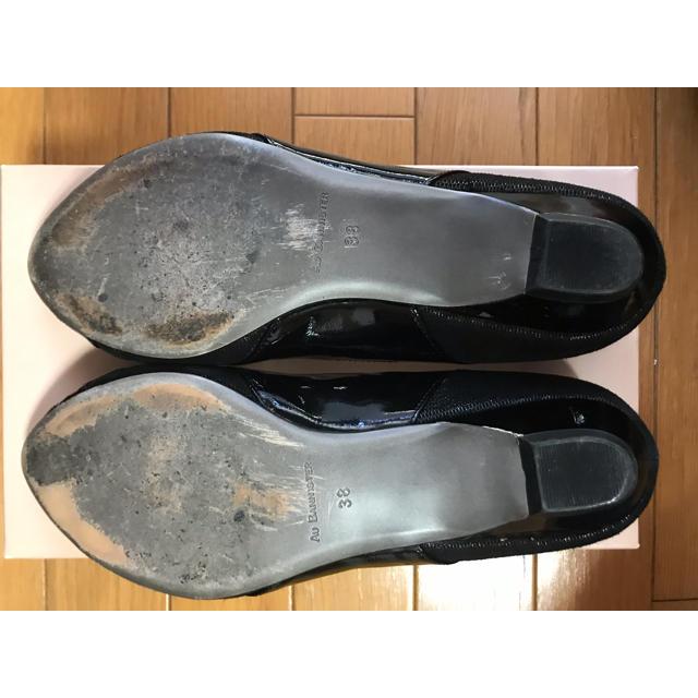 AU BANNISTER(オゥバニスター)の美品 Au BANNISTER オゥ バニスター パンプス レディースの靴/シューズ(ハイヒール/パンプス)の商品写真