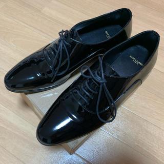 サンローラン(Saint Laurent)のサンローラン エナメルシューズ(ローファー/革靴)
