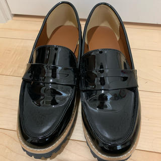 ジーユー(GU)のGU ローファー 黒(ローファー/革靴)