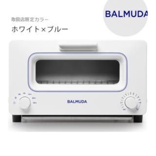 バルミューダ(BALMUDA)の【新品・未開封】BALMUDA The Toaster/-/ホワイト×ブルー(調理機器)